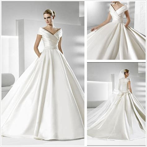 Simple Wedding Dresses   Simple But Elegant Wedding Dress