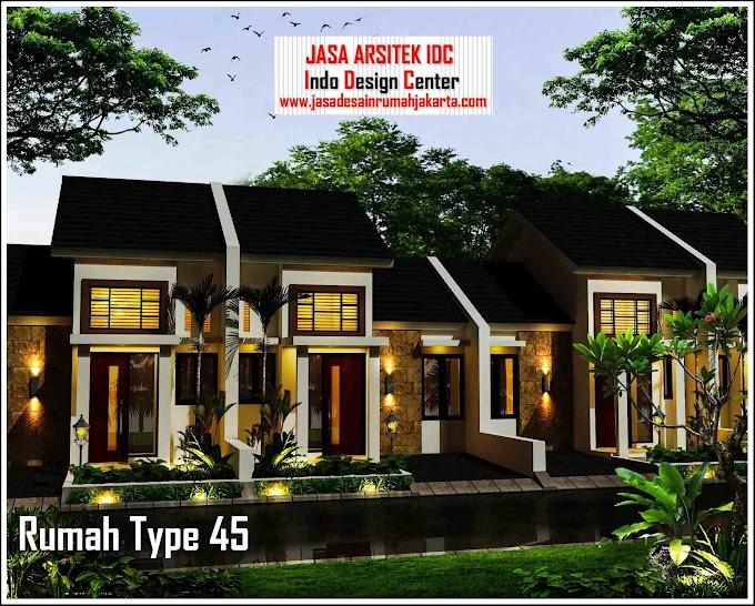 Design Rumah Minimalis Type 45 | Ide Rumah Minimalis