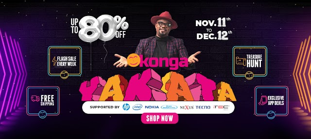 KONGA YAKATA! BEST SALES DEALS! 90% OFF!