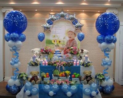 cara mendekorasi ulang tahun anak di rumah - sekitar rumah