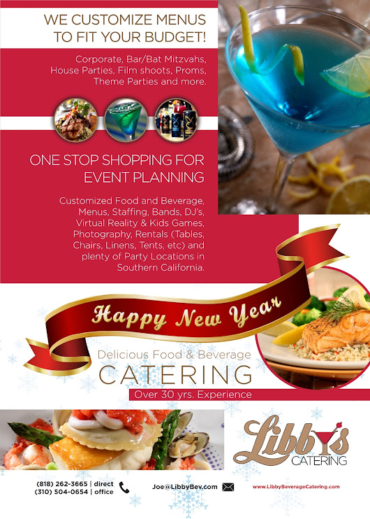 Happy New Year from Libby's Catering 2018
