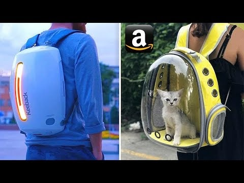 10 FUTURISTIC BACKPACKS  Available On Amazon India  | SMART BACKPACKS Under Rs199, Rs500, Rs10k