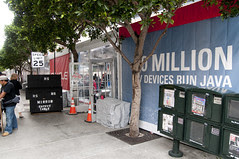 Masson Street Tents, Oracle OpenWorld & JavaOne + Develop 2010