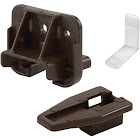Prime Line Drawer Track Guide and Glide, Dark Brown
