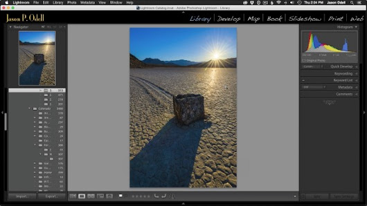 HDR Image Processing With Lightroom CC (Video Workshop) | Jason P. Odell