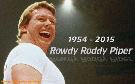 The Moving Picture Show #35 - Rowdy Roddy Piper - Stolendroids