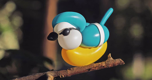 artist makes brilliant balloon sculptures of birds in the wild