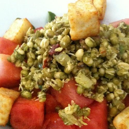 Watermelon Salad at DOSA