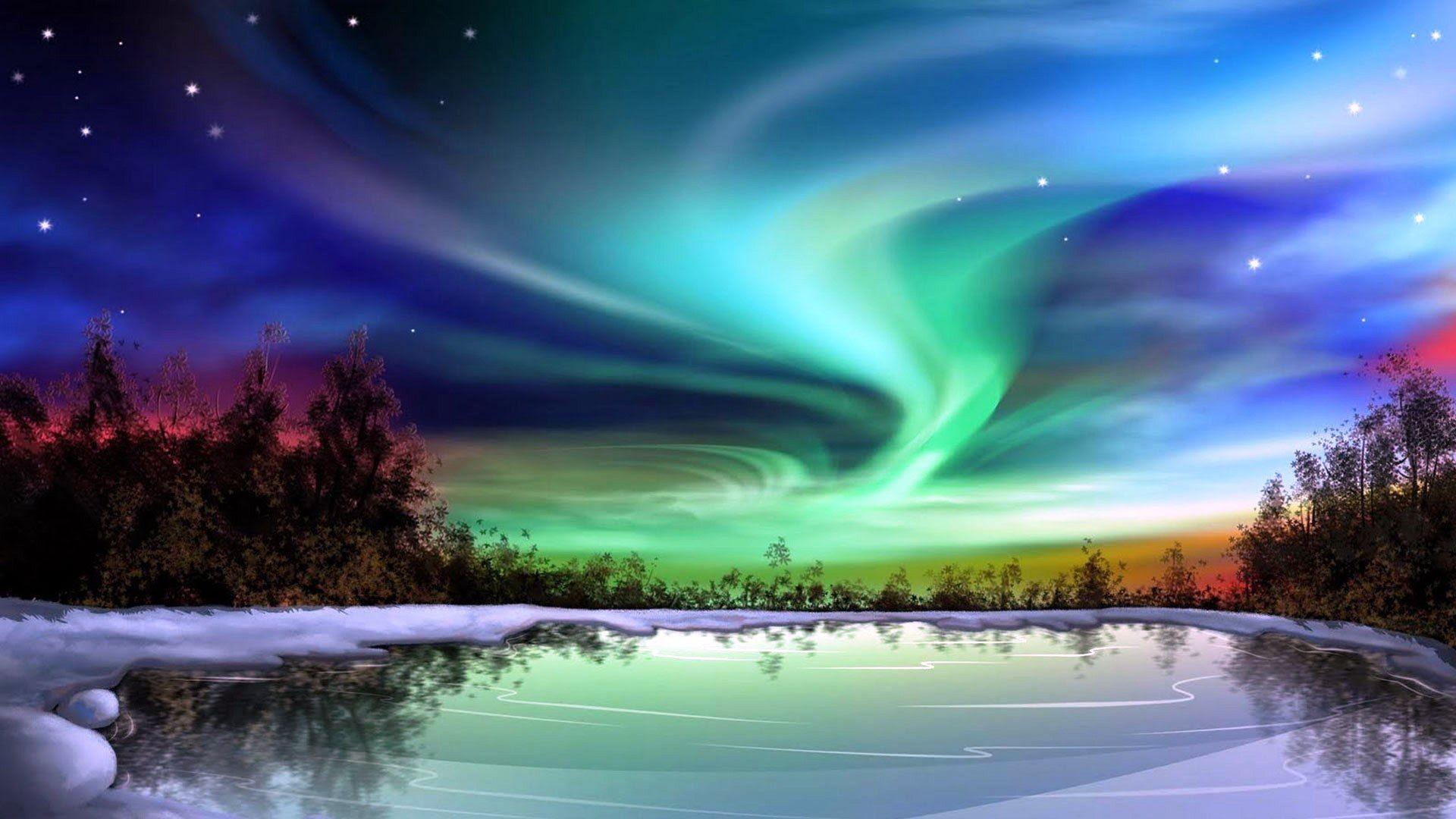 Alaska Night Sky HD Wallpaper (49+ images)
