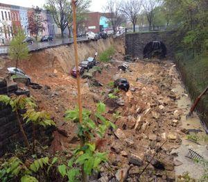 Baltimore glissement de terrain