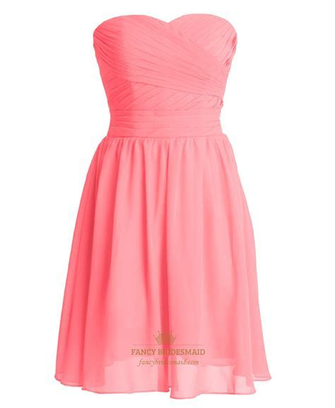 Coral Coloured Bridesmaid Dresses UK/Australia Melbourne