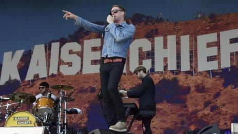 Kaiser Chiefs to launch Glastonbury