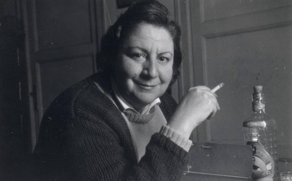 Gloria Fuertes, en una imagen de archivo.