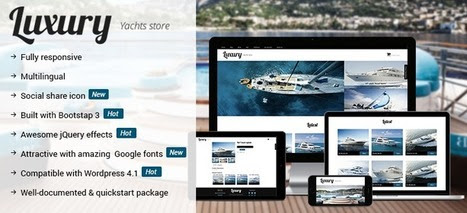 Luxury WordPress Theme - OrdaSoft
