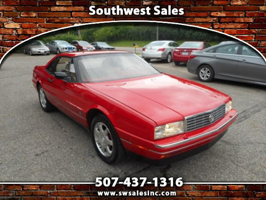 Used 1991 Cadillac Allante Base for Sale in Austin MN 55912 Southwest Sales