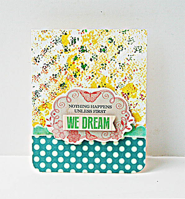 We-dream-card