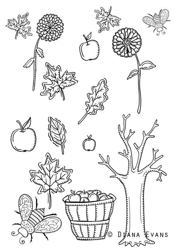 autumn sunday sketches