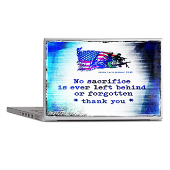 Military Sacrifice Laptop Skins