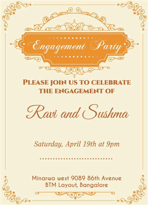 13 best images about Engagement Invitation Wordings on