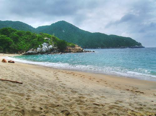 Playas del Parque Tayrona, Colombia