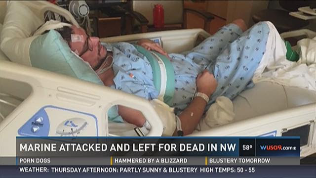 Marine attacked and left for dead in NW DC