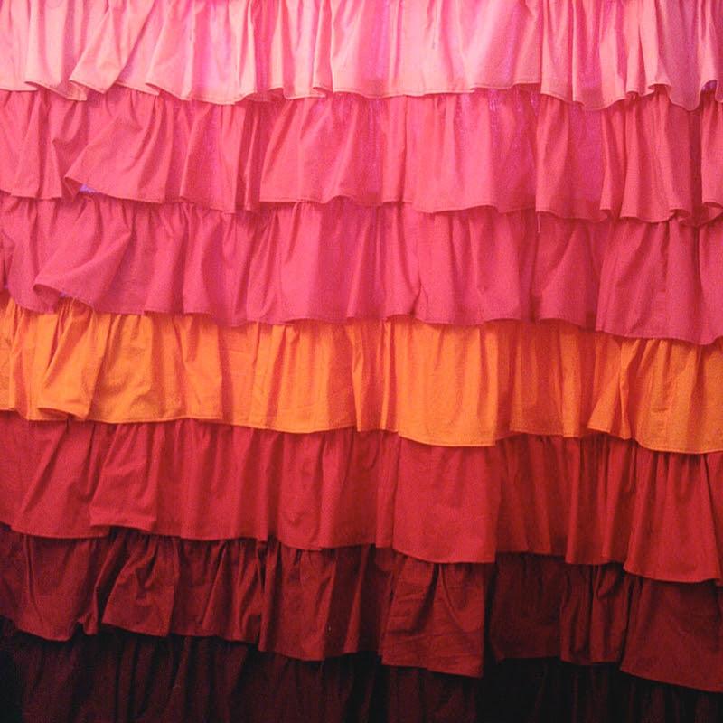 Anthropologie Smoldering Hues Curtain