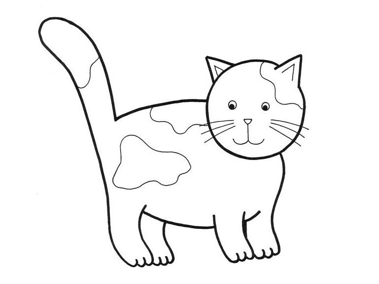 260 Dibujos De Gatos Para Colorear Oh Kids Page 21