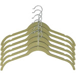 Closet Spice Velvet Hanger for Blouse - Set of 40 (Natural)
