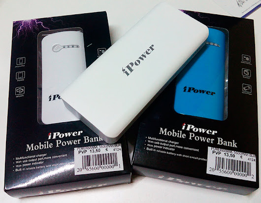 Power Bank, Bateries externes per a Mòbils, Tablet, Iphone, Ipad, Mp3, al millor preu