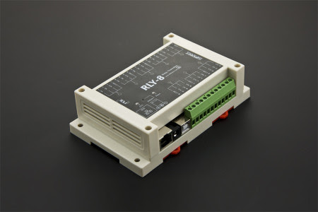 8 Channel Ethernet Relay Controller (Support PoE and USB) -DFRobot