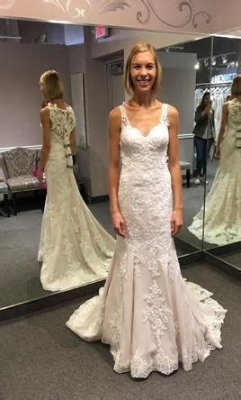 Stella York 6343, $750 Size: 2   New (Altered) Wedding Dresses