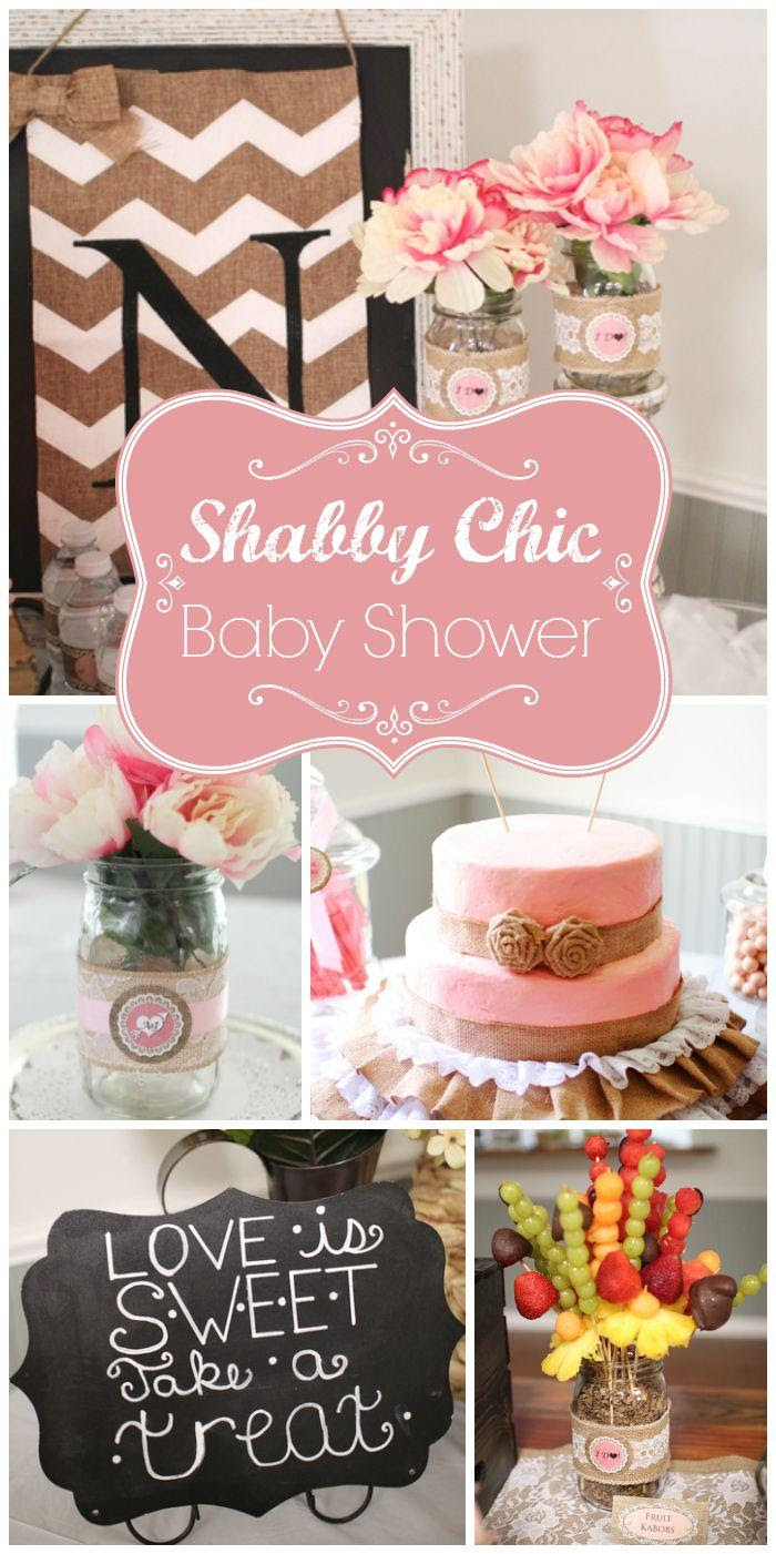 Shabby Chic Vintage Glam Bridalwedding Shower Ashleys Bridal