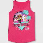 Girls' L.O.L. Surprise! #Squad Tank Top - Pink