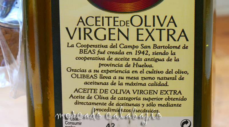 ACEITE DE OLIVA OLIBEAS V