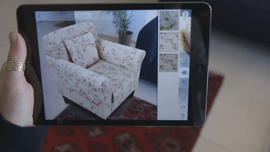 Augmented-reality tech fills your living room with virtual furniture