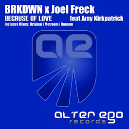 AE277 : BRKDWN x Joel Freck feat Amy Kirkpatrick - Because of Love (Radio Edit) by Alter Ego Records