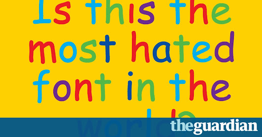 How we made the typeface Comic Sans | Art and design | The Guardian