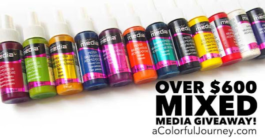 Giveaway Alert! Want to Win $600+ in Mixed Media Supplies?