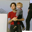 Marion Cotillard Takes Her Son Marcel To The Gucci Paris Masters | Celeb Baby Laundry