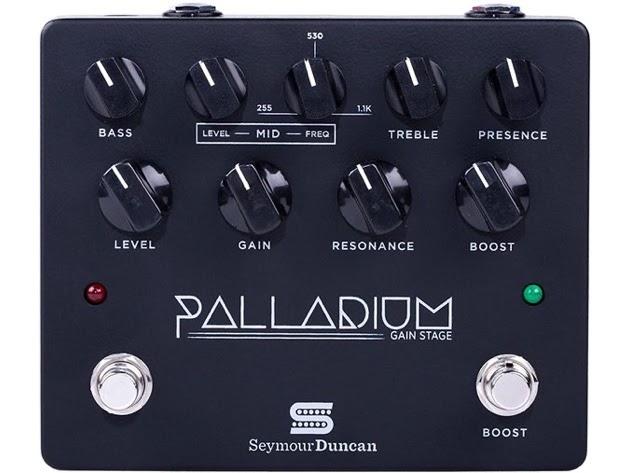 Seymour Duncan Electric Guitar Multi Effect, Black Palladium Gain Stage - Black (Used, Damaged Retail Box) for $299