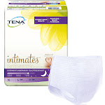 Female Adult Absorbent Underwear TENA Overnight Pull On with Tear Away Seams Medium Disposable Heavy Absorbency
