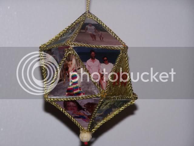 1990 photo ornament
