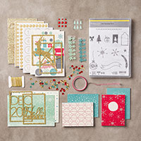 Project Life Hello December 2015 Photopolymer Bundle by Stampin' Up!