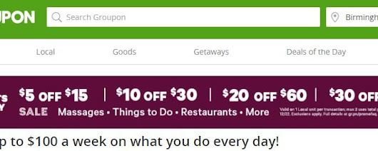 Groupon: Save $5, $10, $20 or $30 off deals | Score some GREAT Christmas Gifts! - Saving Toward A Better Life