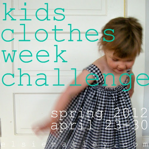 big button for kids clothes week challenge
