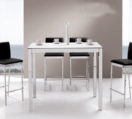 Decorar cuartos con manualidades patas de madera para mesas altas - Mesa alta comedor ...