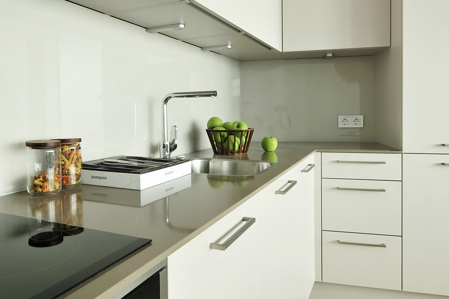 NOLTE kitchens in apartments of Z-Towers | Nolte Home Riga