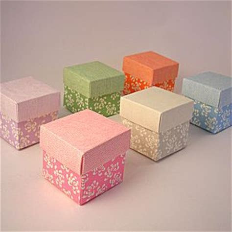 mini cupcake boxes in floral designs and pastel colours   blue
