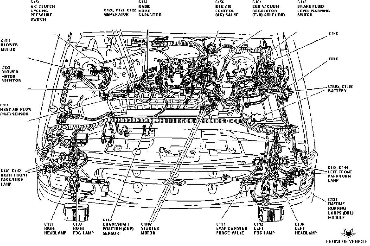 Wiring Database 2020  30 2004 Ford Explorer Parts Diagram