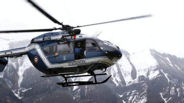Helicóptero de resgate